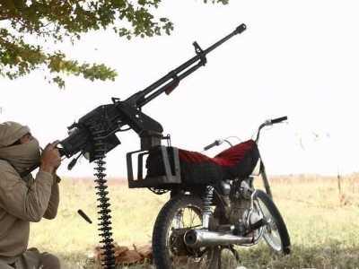中国重机枪又在中东扬威 重机枪图片