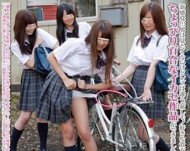 仲良し女子校生4人組のイチャつき凌辱ごっこ「女の子同士だからってレズじゃないも 作品番号nhdta-218封面